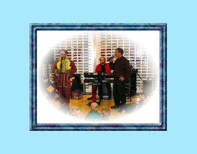 Kinderprogramma Joke & clown Miko Met muzikale omlijsting van Hans Baaij.